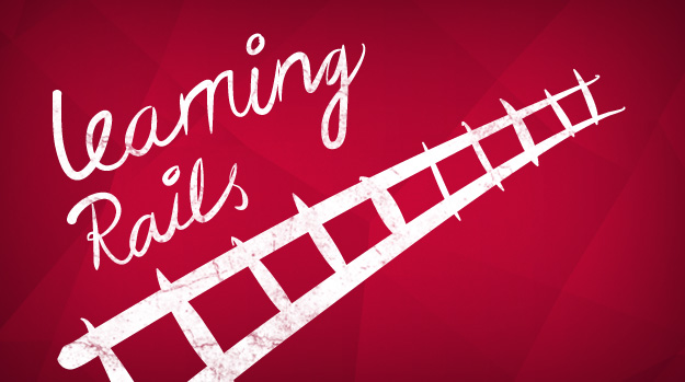 Learning Rails, one step at a time