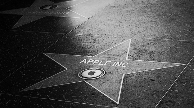 Apple on the Hollywood Walk of Fame