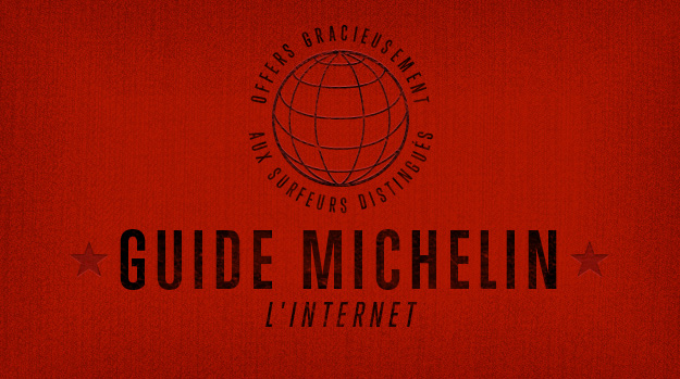 Michelin Guide for the web