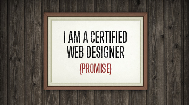 Web designer certification