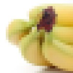 Pixellated bananas