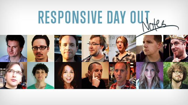 Responsive Day Out photo collage