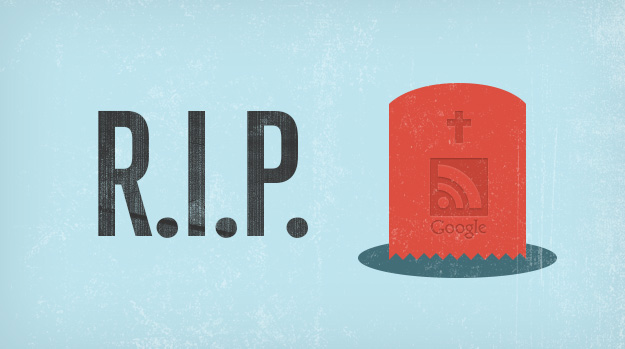 Google Reader tombstone and RIP