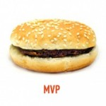 A hamburger representing the MVP
