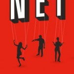 Netflix logo with puppet strings