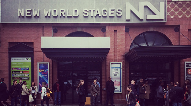 Photo of the venue, New World Stages